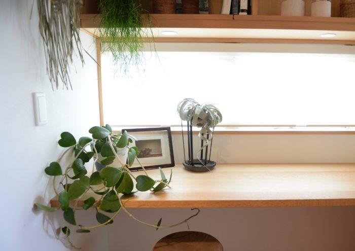 エアプランツは場所を取らないため気軽に飾れますが、意外と置き場所に悩むことも。前田さん宅ではスタンドに置いて飾っていました。小窓の前に置くことで日光と風通しも確保できていますよね。  植物に適した置き場所で、おしゃれに飾る技は真似したいところです。
