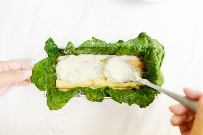 テリーヌ, テリーヌの作り方, テリーヌのレシピ, 野菜のテリーヌ, マッシュルーム