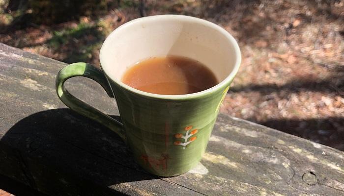 モリンガコーヒー。味は・・・コーヒーというより、黒豆茶に近いような・・・香ばしさがあり、少し苦みもあるので、夏に冷たく冷やして飲んでもおいしそうです。