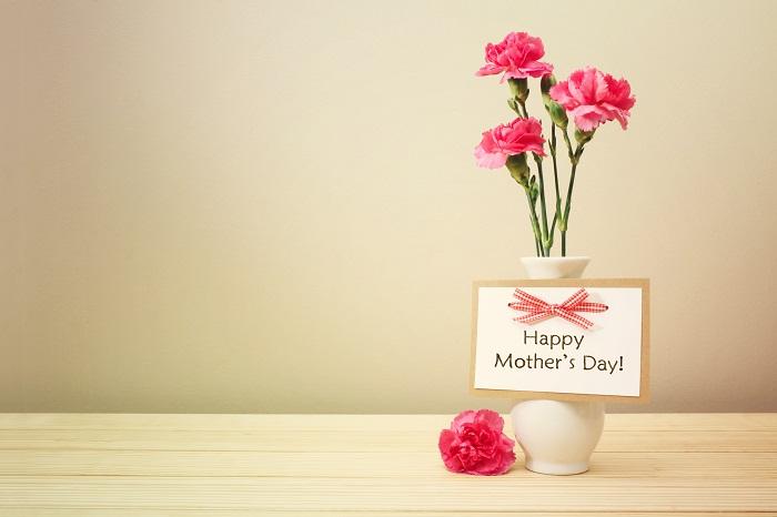 花言葉は「母への愛」  カーネーションはナデシコ科の多年草です。母の日に贈る定番のお花のカーネーションは、1輪でもブーケでもかわいいのが魅力的です。