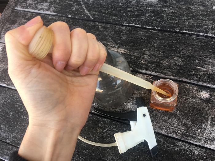 アブラムシ 木酢 液