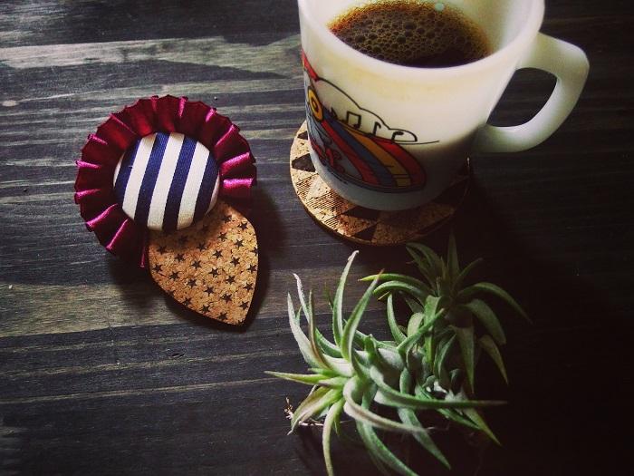 コーヒーとエアプランツ