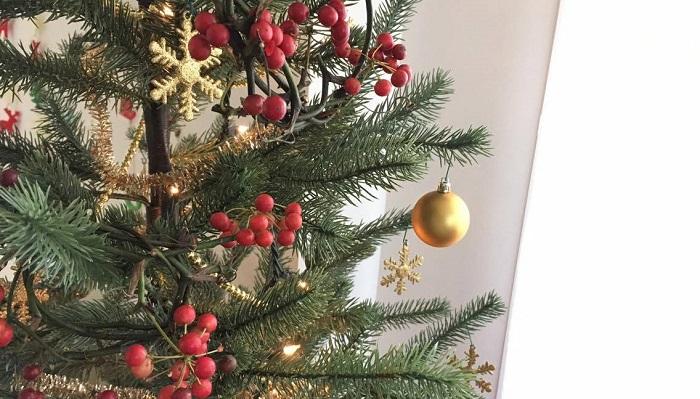 クリスマスの飾りにも。大きめのものは玄関に。小さめのものはツリーにかけても相性抜群。
