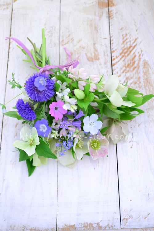ルピナス・ピクシーでライトは切り花として楽しむこともできます。最近は、切り花としても流通している草花です。