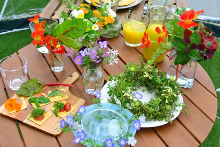 「ハーブ」とは、「暮らしに役立つ香りのある植物」を総称する言葉。昔から生活のあらゆるシーンで薬草や料理など様々な用途で利用されてきました。  現在ではハーブは園芸用に改良されて、主に利用目的が観賞用のハーブも多数流通しています。様々なハーブの苗は、ハーブショップなどの専門店の他、花屋さん、園芸店などで購入することができます。