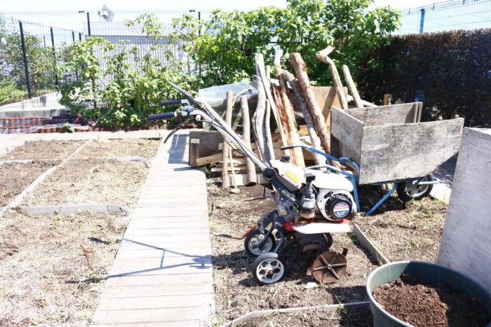 有機栽培として、堆肥場まで設置されています。