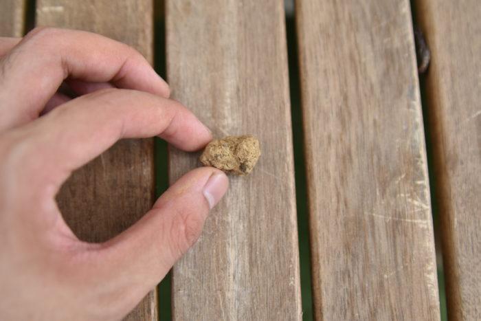 赤玉土の大粒は主に鉢底石として使用されます。  大きさがかなり大きいので、通常の鉢植えでは鉢底石以外ではあまり使用しません。しかし、土壌改良を目的として、少量を土に混ぜ合わせることがあります。  大粒の赤玉土を混ぜ込むことによって隙間ができ、通気性と排水性が良くなります。