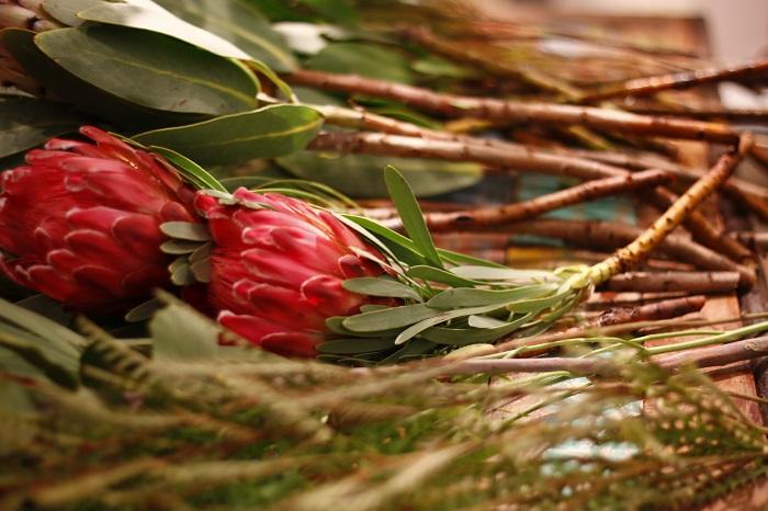 来場者は、自分の好きな植物の組み合わせの種類にとても悩みながらも、たまたま隣に居合わせた人と、何がいいかお話をしている様子もあり、花を通してたくさんのコミュニティーの輪が広がり、笑顔に溢れていました。
