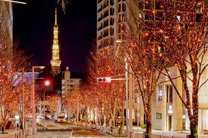 画像提供:森ビル株式会社  六本木ヒルズのクリスマスイベント「Artelligent Christmas 2017」は、11 月上旬に行われる六本木けやき坂通りのイルミ ネーション点灯式を皮切りにスタートします。  六本木ヒルズのクリスマスシーズンは、毎年約 700 万人もの方が訪れ、1 年 を通して最も多くの来街者が訪れる季節で、きらきらと輝くイルミネーションに人々のあたたかさが溢れます。   約 400m のけやき並木を約 120 万灯の LED が彩る六本木ヒルズ冬の風物詩「けやき坂イルミネーション」のほか、「66 プ ラザ」や「ウェストウォーク」は、独創的な世界観を放つオリジナルのクリスマスツリーやイルミネーションで彩られます。