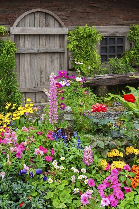 ナチュラルガーデンは自然のままの庭ですが、基本的な植物の習性は把握しておきましょう。それは、日陰を好む、寒さに弱いといったようなことです。根腐れを起こさないよう、水はけのよい土壌作りも大切です。それだけしてあげれば、あとは自分の好きなところに草花を植えてみましょう。植物は生命力あふれるもの。枯れたと思っていたのに、次の春がきたらひょこっと顔を出していたり、鳥が運んできた種で知らない花が咲いていたり、思いがけないサプライズがあるのもまたナチュラルガーデンの魅力です。