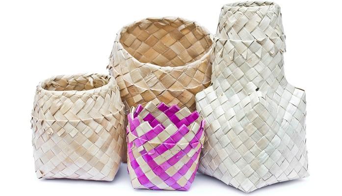 パンダンは、日本では主に収納用品として用いられます。アジアンテイストのインテリアですが、併せやすいので他のテイストのインテリアとも合わせやすく、人気の素材です。防虫効果があるとされています。