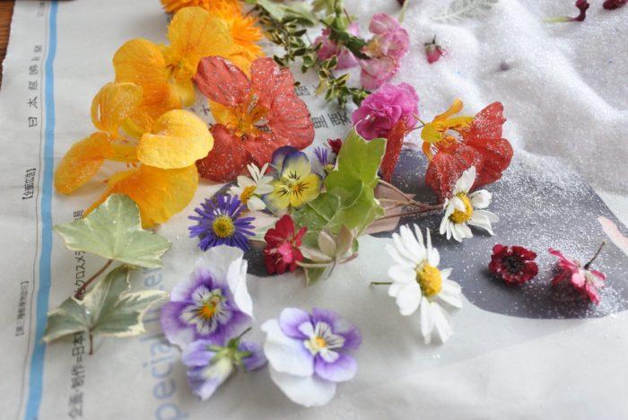 花にもよりますが3日~1週間置くと出来上がりです!