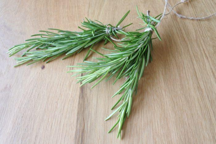 ローズマリー  ローズマリーは若返りのハーブとも呼ばれています。スッキリとしたグリーンの香りですよ。