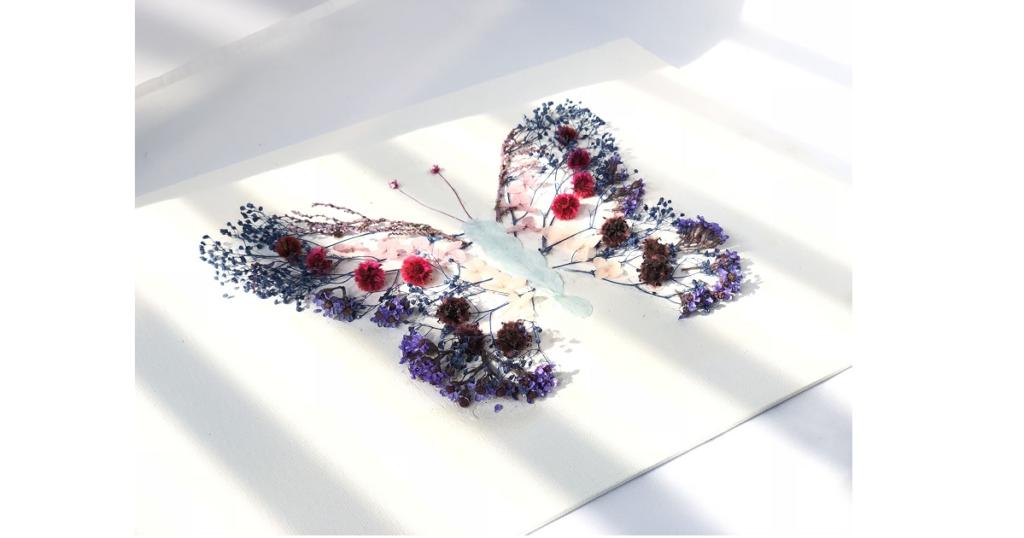 植物アート【草花でdrowing】@3331 Arts Chiyoda 2
