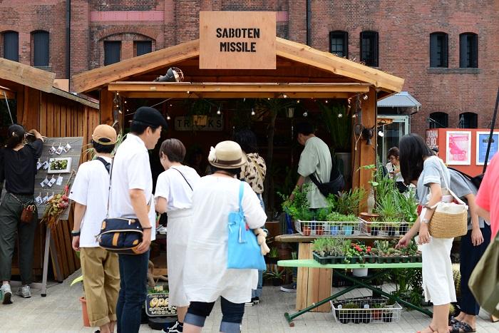 Saboten Missileは、世界中の植物が集まる専門店。  生産地をめぐって厳選した魅力的な植物に目を奪われてしまいました。こちらで植物を購入するときは、現地での植物の様子などのお話を聞くことができ、日本で育てると体験できない植物の様子を感じることができます。