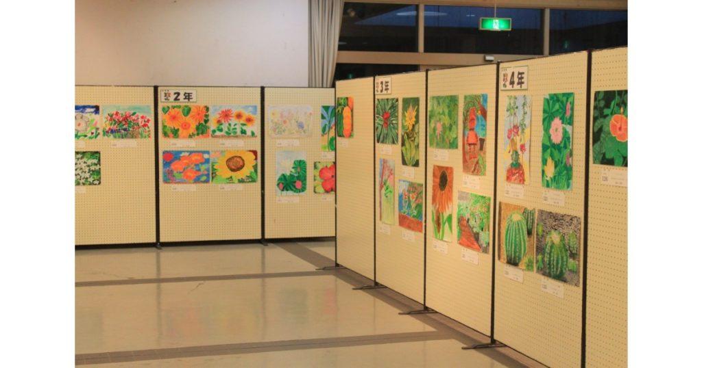 幼児・小中学生花の絵画展 in花の文化園