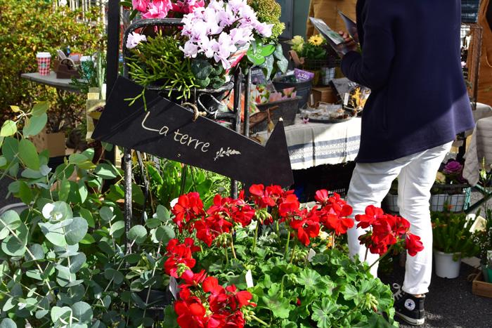 店舗を持たないLa terreさん。お庭のお手入れ、植物のコーディネートの活動をされています。