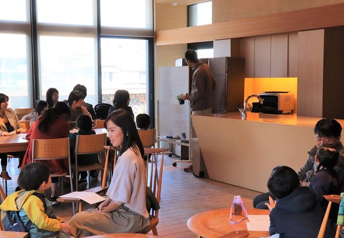 取材当日は、「すくすくキッズベジタブル教室」が行われていました!のちほどその様子を紹介していきますね。