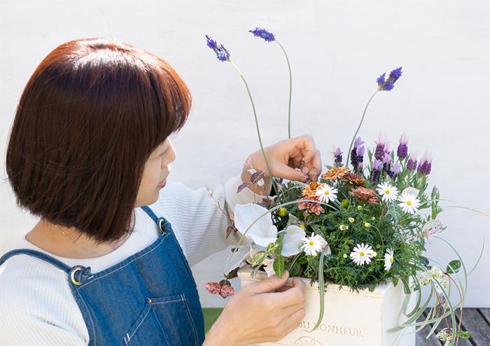 グッドルッキングな寄せ植えは、香りだっていいんです。そんな乙女心と嗅覚をくすぐる寄せ植えをLOVEGREEN編集部の寄せ植えマスターあっちゃんこと戸松敦子さんがレクチャー。このいい香り、ぜひ感じて欲しいです。