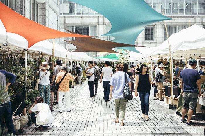 前回のFlower & Green Marketの写真とともに、Flower & Green Marketのテーマやコンセプトをご紹介。