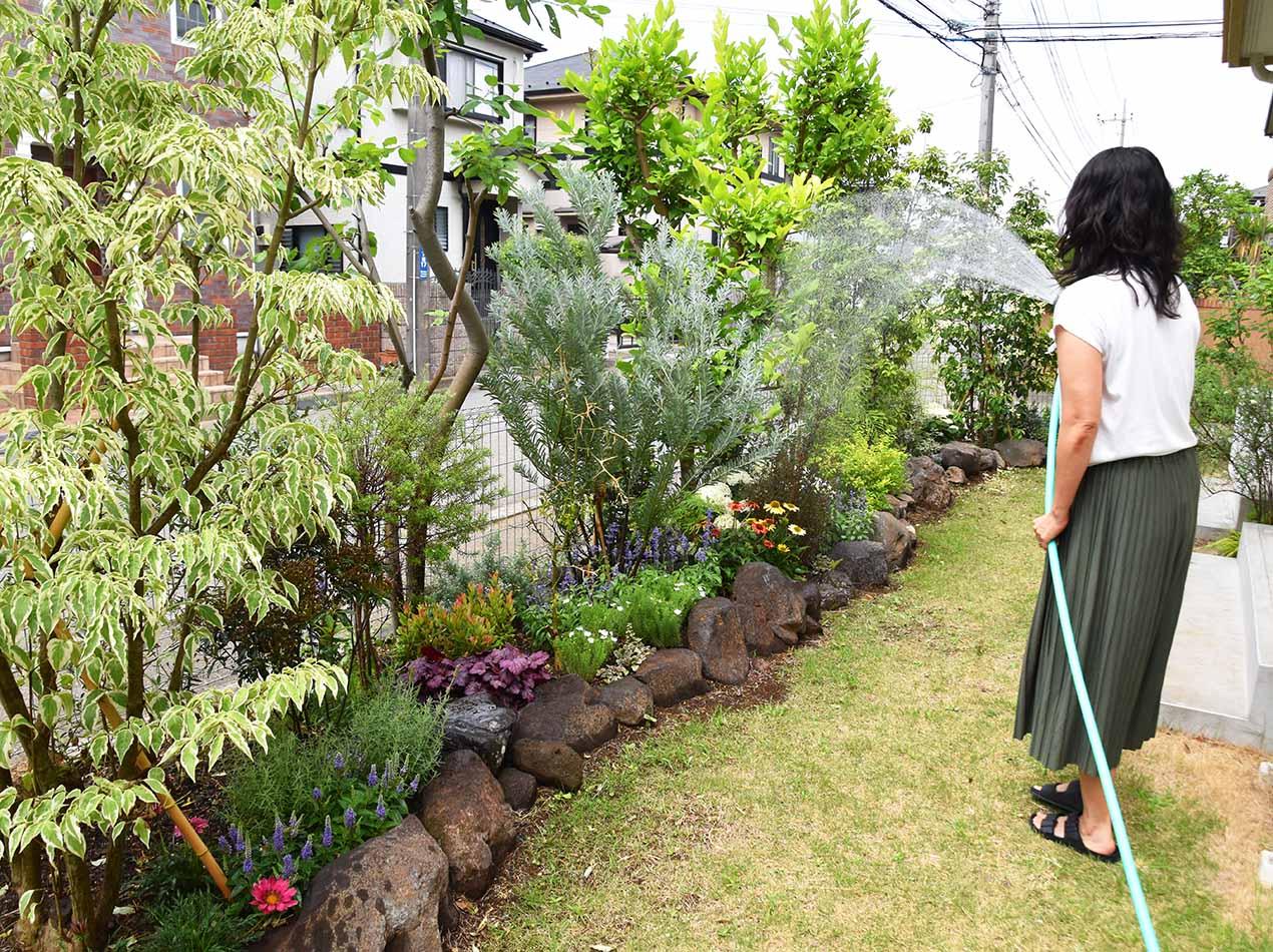 実例】お庭の目隠し対策!外からの視線をイングリッシュガーデンで解決 ...