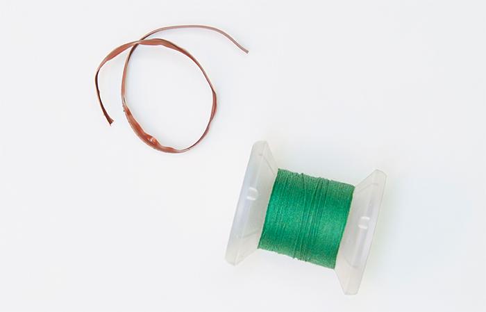 ビニタイ・木綿糸