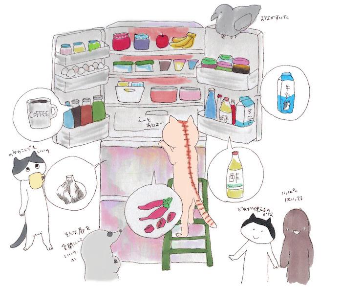 エディブルガーデン、冷蔵庫、病害虫