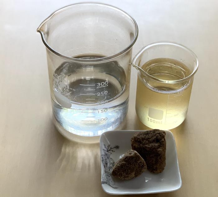 酢・焼酎・黒糖