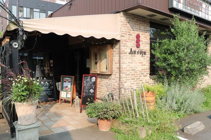レストランも併設しているので、お食事やお茶も楽しめますよ。