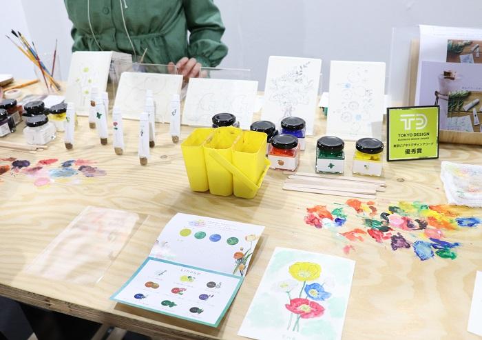 アロマ・フレグランス商品を数多く手がけるGRASSE TOKYO(グラーストウキョウ)のブースでは、営業企画部の岩崎さんに教えてもらい、香りの魅力を楽しみながら学べる新商品「香の具(kanogu)」の使用体験をしました!