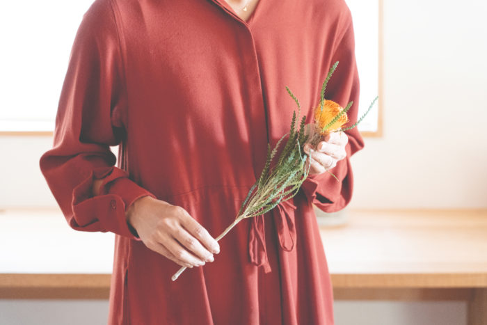 メインの花材を選ぶ