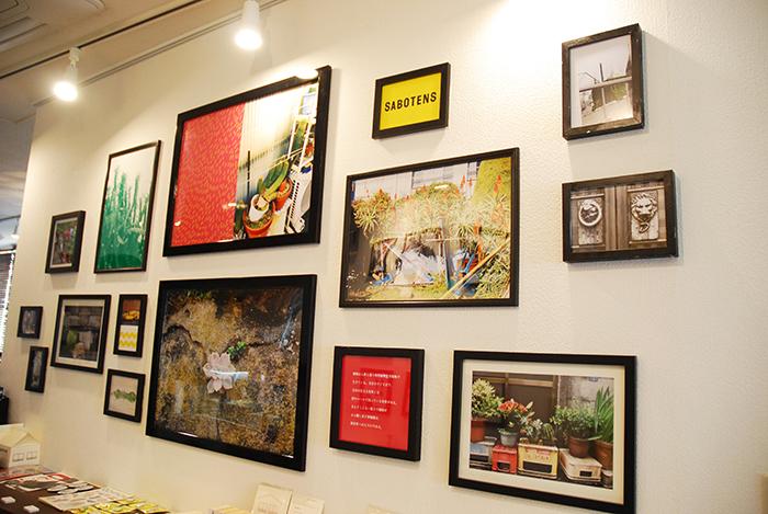 清澄白河のカフェ「GINGER.TOKYO」での作品展(2017年11月)