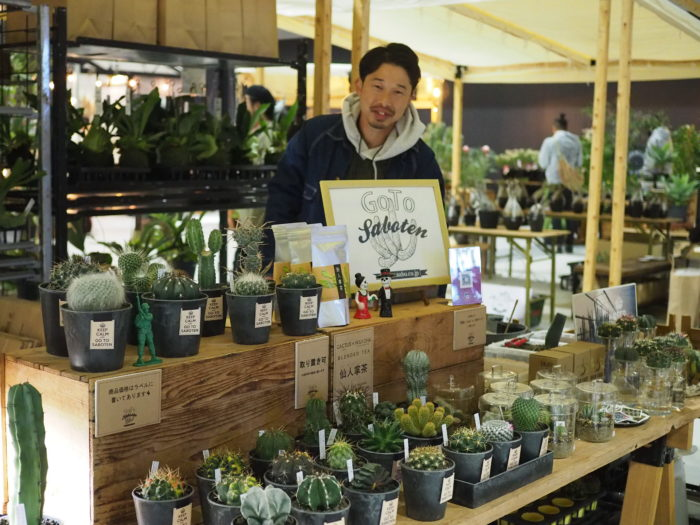 昔からサボテン栽培が盛んだった愛知県春日井市で、サボテンを実生苗から生産・出荷するGOTO SABOTENさん