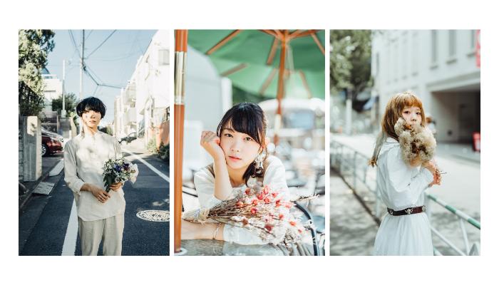 書籍「花束を買いに」写真