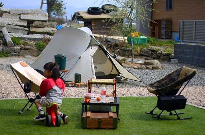 @takesj30  思い切って、テントを張ってみるのもあり!庭だって立派なアウトドアです!楽しみ方は自由。さあ、あなたならどんなことをしますか?