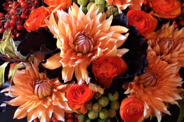 初夏から秋まで咲くダリアは、庭の花としても切り花でもおすすめの花です。花色や咲き方の種類の多さも魅力です。  初心者さんでもそんなに難しくなく育てられるダリアの花。ぜひチャレンジしてください。