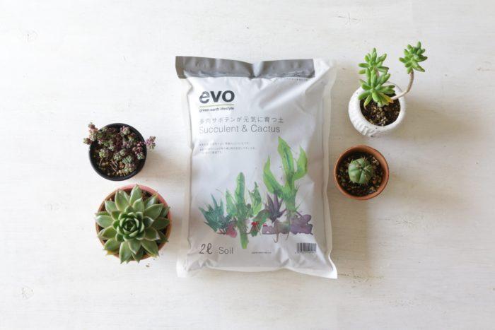 多肉植物やサボテンに適しているのは、水はけのいい土。この土は、排水性と通気性がよく根腐れしにくい土です。  粒子が細かいため、苗をしっかり支えます。