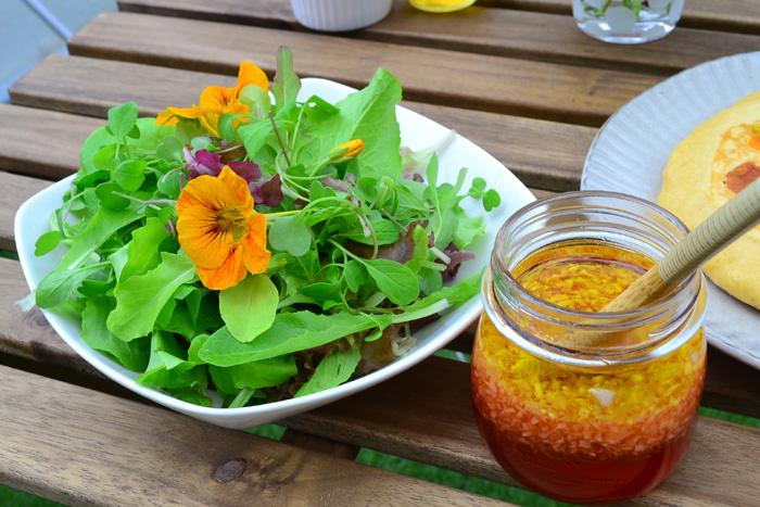 ポタジェガーデンで育てた野菜はすべて自分の手作りなので、安心して食べられます。収穫という目的があればこそ、日々のお手入れも楽しくなります。