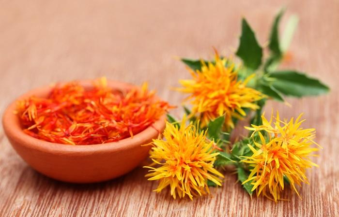 科名:キク科 開花期:5~7月 分類:半耐寒性一年草 ベニバナは咲き始めは黄色で咲き進むにしたがって朱のようなオレンジ色へと変化していく一年草です。花は染料としても利用されます。
