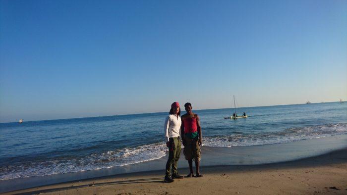 散歩で少しリフレッシュしホテルを出発。今日はマダガスカル最大級のバオバブをめざした。