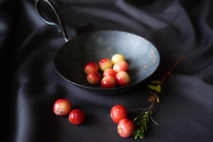 クランベリーの味 真赤に熟したクランベリーの実は、宝石のように美しく魅力的で、見るからにおいしそうです。フレッシュのクランベリーはどんな味なのでしょうか。図鑑や本によると、酸味が強く生食には向かない、と書いてあります。  クランベリーの生の実を食べて確かめてみました。フレッシュのクランベリーの実は酸っぱいし、若干の渋みはあるしで、生食には不向きです。お世辞にもおいしいと言えるものではありませんでした。あまりおすすめはしません。  クランベリーの栄養 クランベリーはポリフェノールやキナ酸、ビタミンCなどを含有していると言われています。ポリフェノールやビタミンCは美肌効果が期待できると言われている栄養素です。クランベリーを食べて美肌になりたいものです。