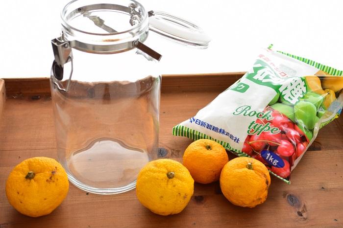 柚子シロップ 材料