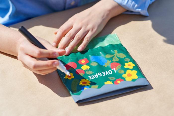 お花の黒板工作ポット「クリエイポット」