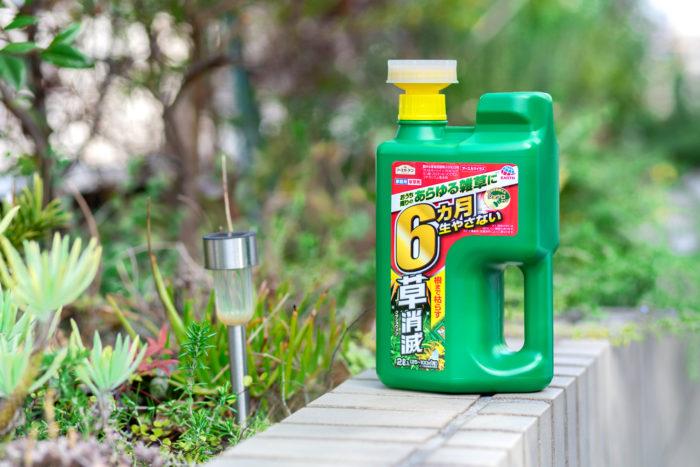 雑草に「すぐ効く&長く効く」ハイブリッドなおすすめ除草剤