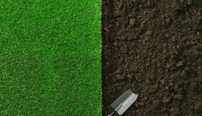 お庭のDIY 人工芝