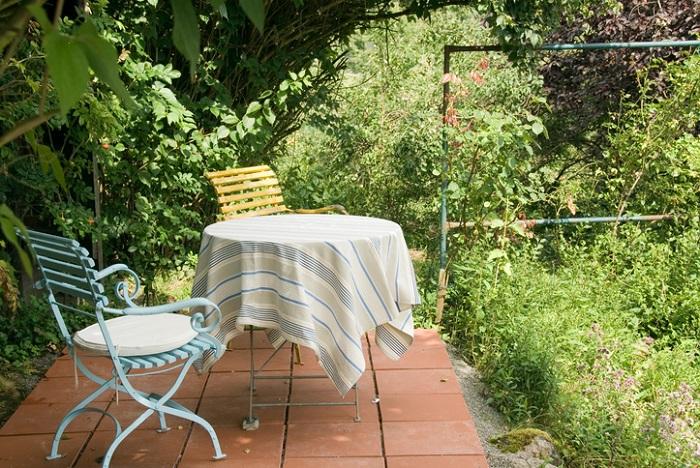お庭のDIY タイル