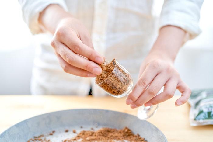 多肉植物専用「ベラボン・サキュレント」の使い方:穴のない器の場合