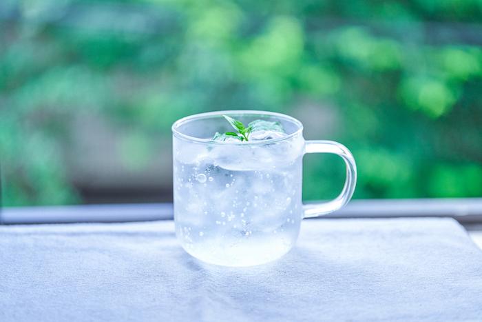 ミントの一番の手軽な楽しみは、葉をカットして炭酸水や紅茶、お酒のワンポイントに。  朝や仕事の休憩時間など、ちょっとした時間も癒しのひとときに。  香り深い香りを楽しみたいときは、カットして部屋で水耕栽培とかするのも良いかも。(その場合は、香りは徐々になくなってきてしまいます><)